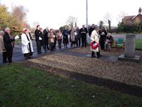 Remembrance Sunday, North Killingholme, 2010
